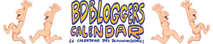 Calendrier des blogueurs(bd)nus!