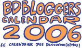 Le calendrier des bloggueurs(BD)nus